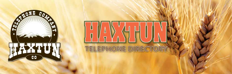 Haxtun Directory